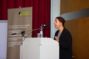 Das Bild zeigt Prof. Dr. Susanne Keuchel am Rednerpult.