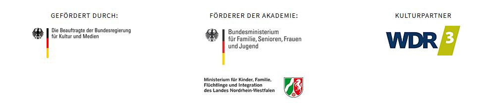 Logos der Partner und Förderer des Netzwerks